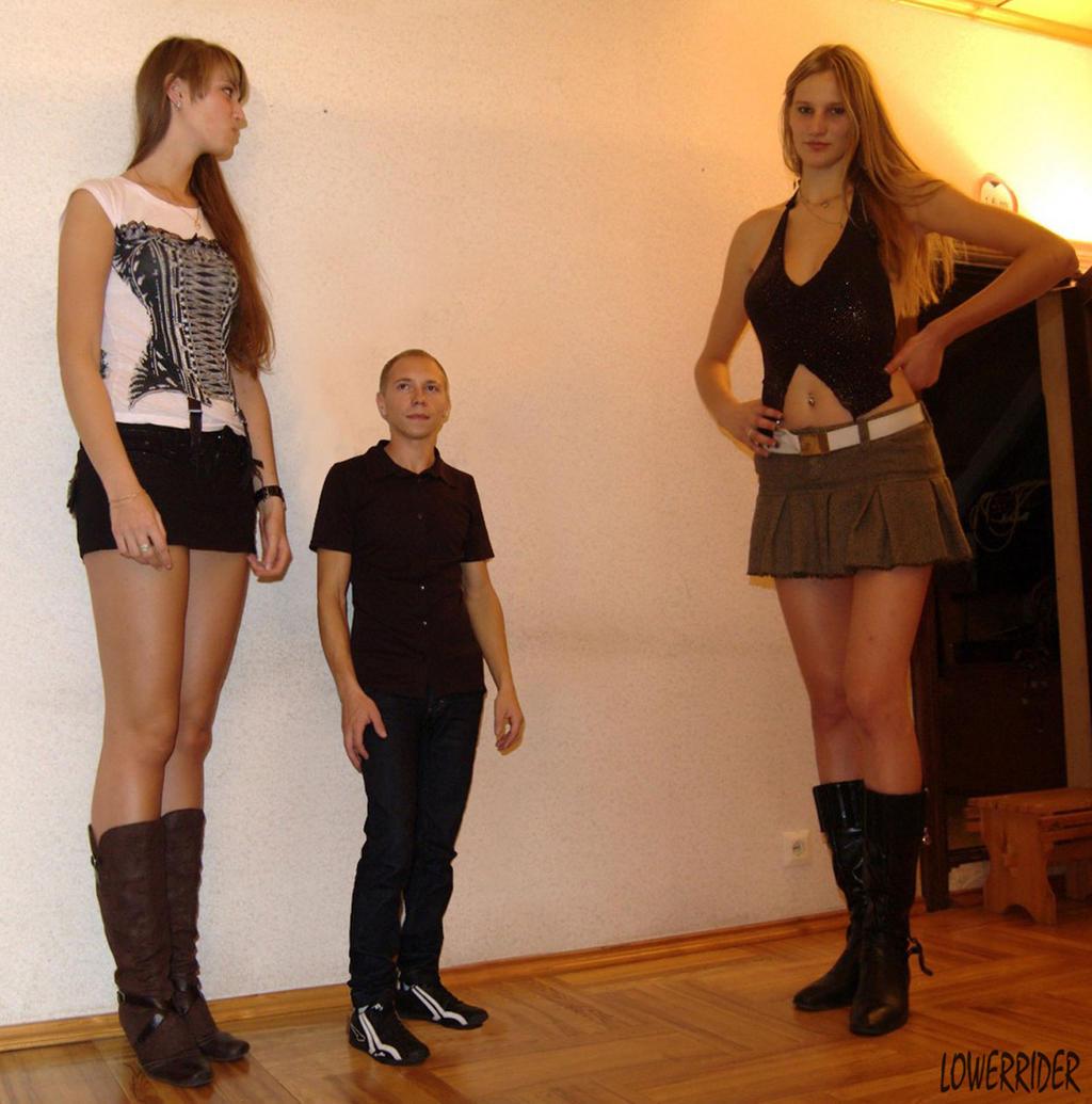 Фото очень высоких девушек 8 фотография