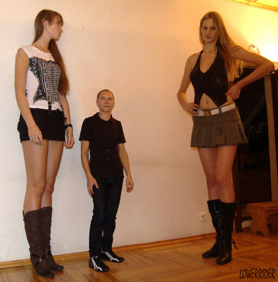 tall woman porn