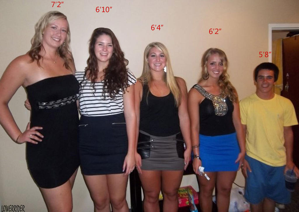 Tall big booty women