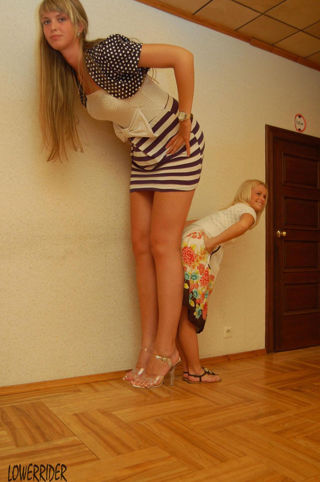 Freakishly tall naked girls, sluty teen college