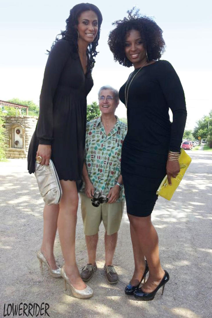 Pics of dwarf men and big women  erotic toons
