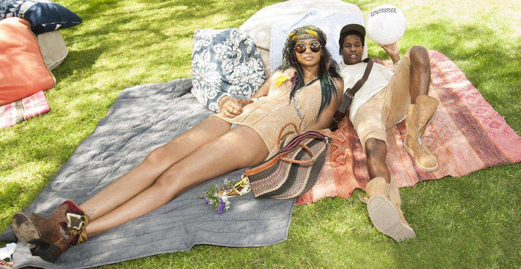 Chanel Iman relax by lowerrider