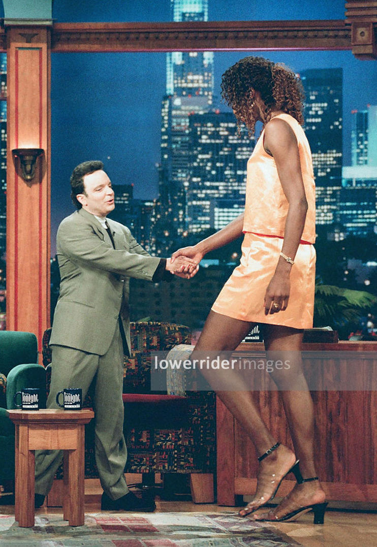 Lisa Leslie Tonight Show by lowerrider