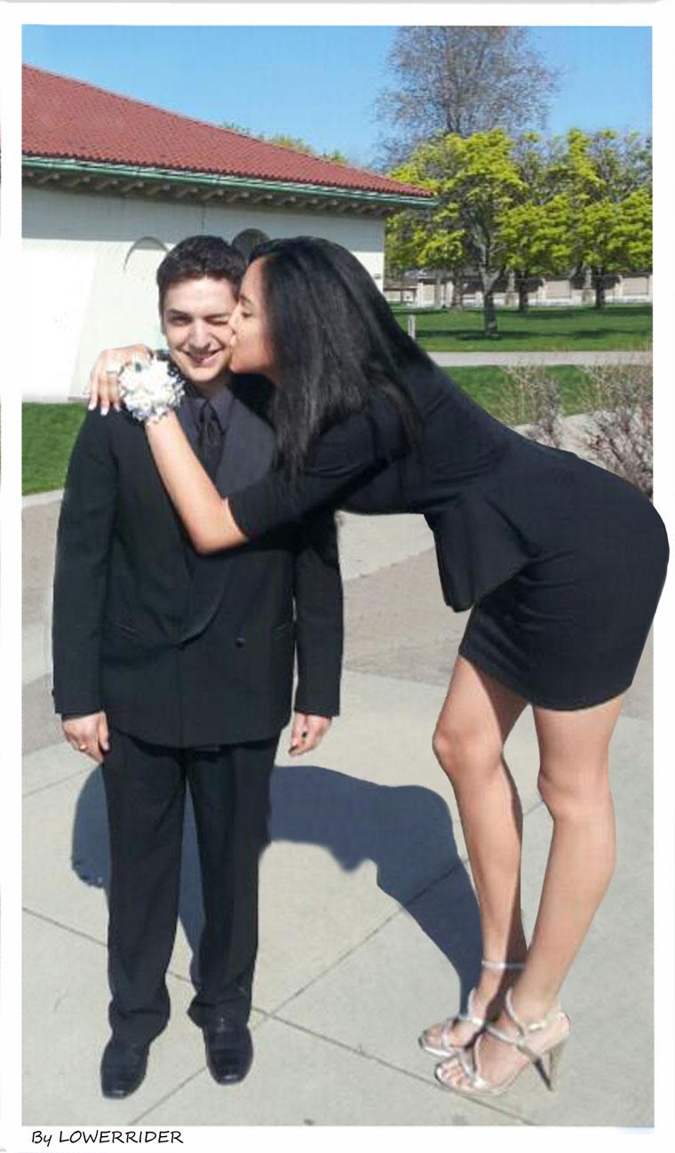 Girlfriend boyfriend short tall and 8 perks