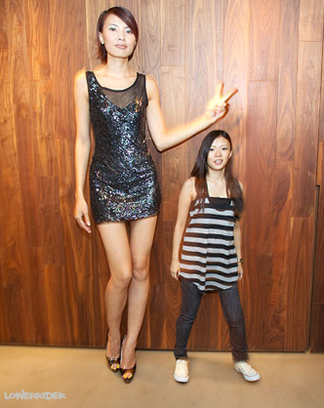Tall Model And Short Woman By Lowerrider On Deviantart-8345