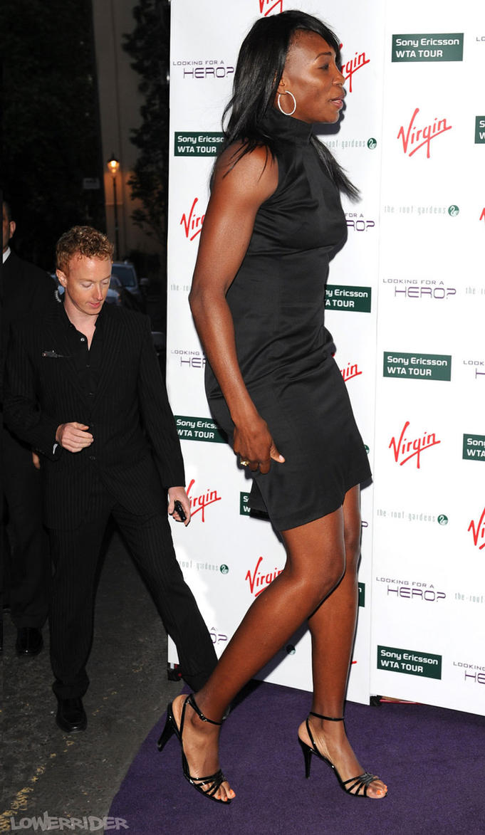 Venus Williams at tour event gala by lowerrider