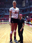 Tall Volleyball player compare (BSU)