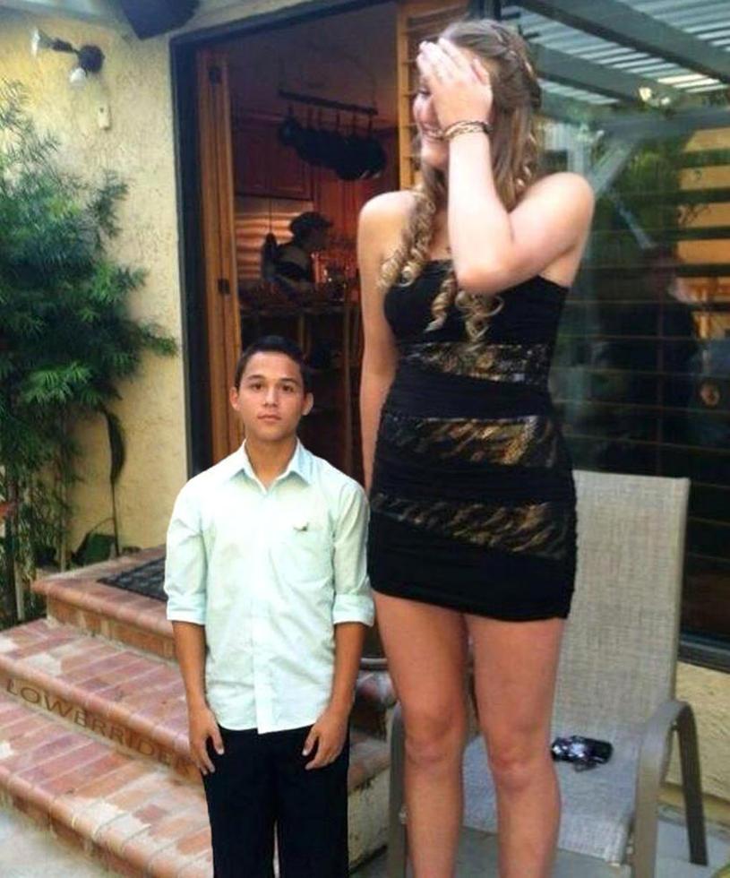 from Micheal taller girl short boy