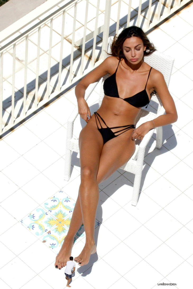 Madalina Ghenea Relaxes by lowerrider