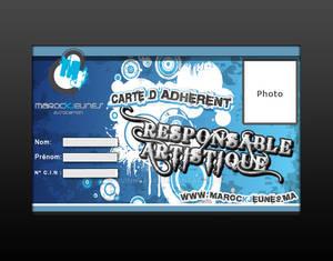 Membership card Marock Jeunes