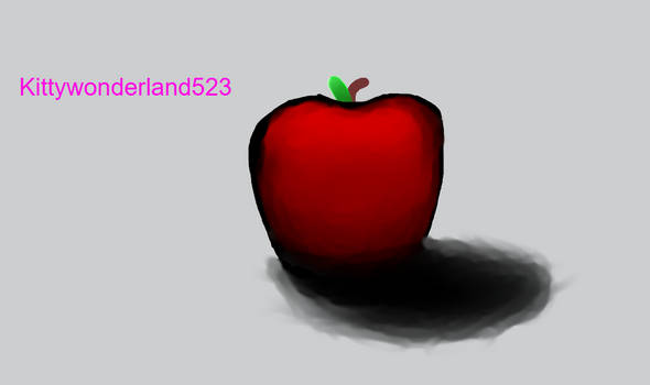 3D apple by me