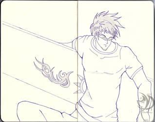 Dark Trinity Sketchbook - 006: Donovan by Khatharsis