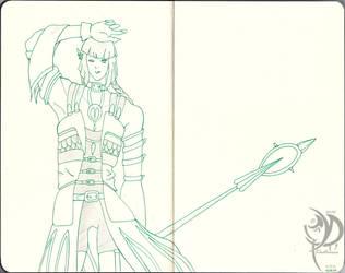 Dark Trinity Sketchbook - 007: Charlie by Khatharsis