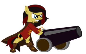 Rumhilda with Cannon by dasArchie