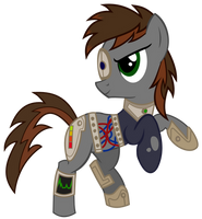 Faulty Bolt-Cyborg by dasArchie