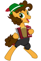 Cheese Sandwich with accordion by dasArchie