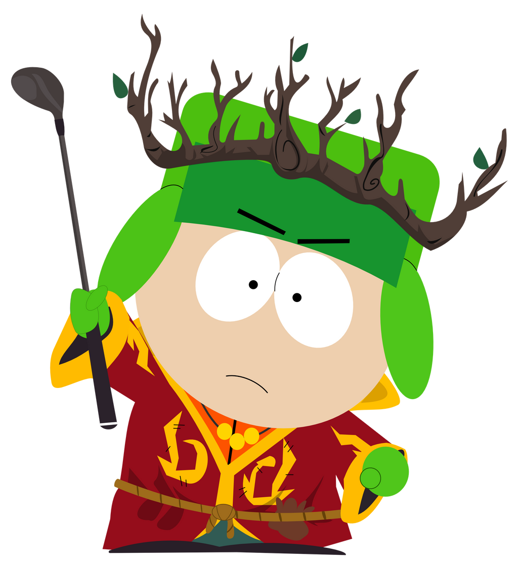 Kyle the Druid by dasArchie on DeviantArt  Kyle South Park Stick Of Truth