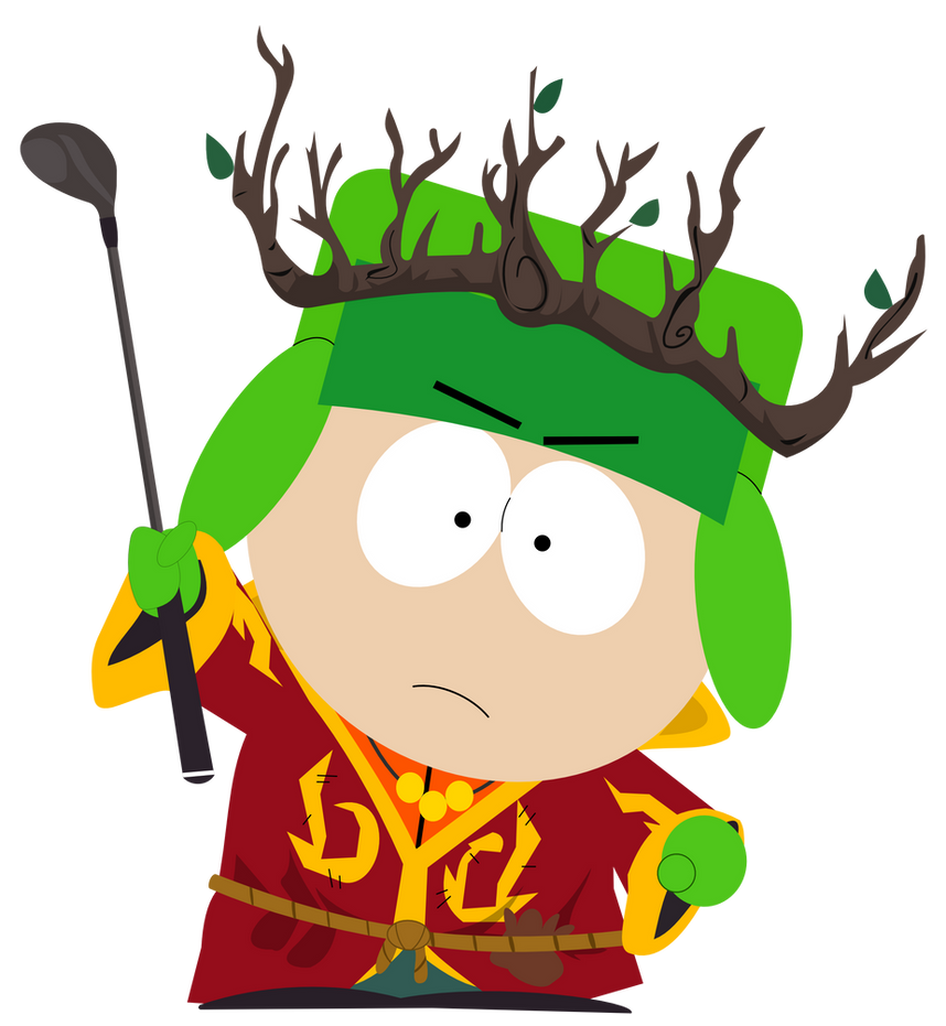 Kyle the Druid by dasArchie on DeviantArt | 858 x 931 png 199kB