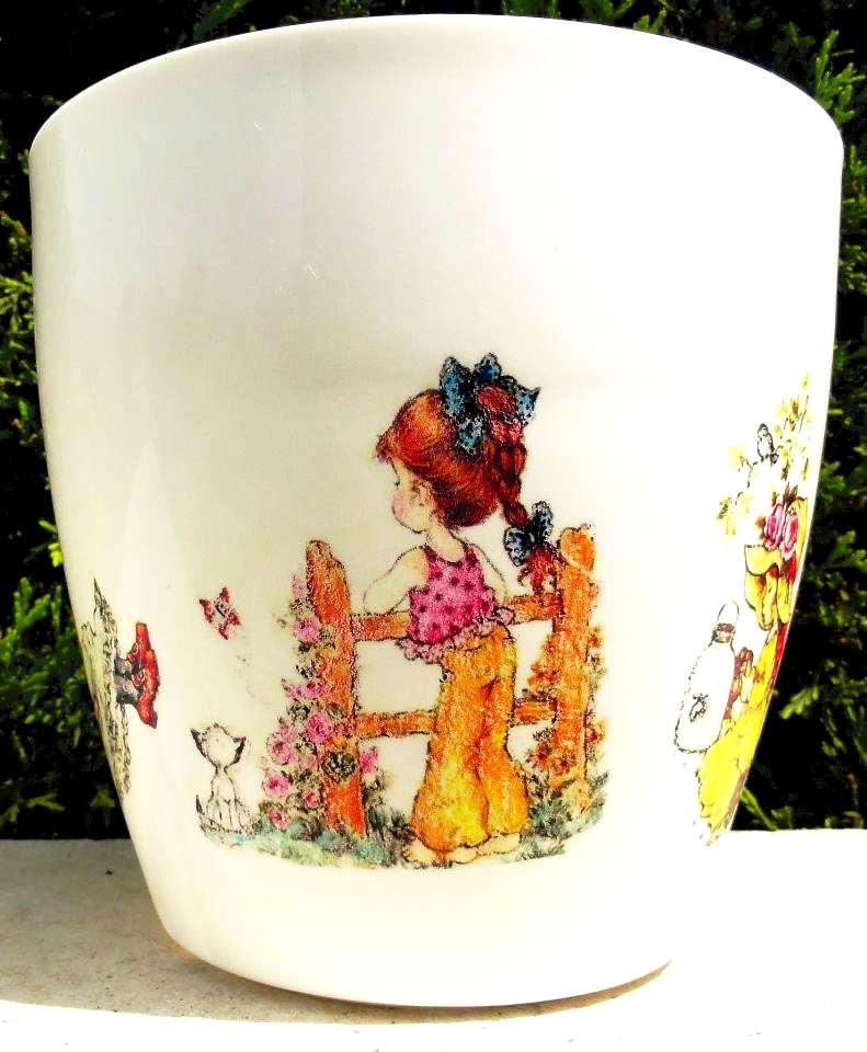 Flower pots, Sarah Kay drawings by naraosart