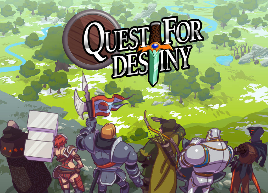 Quest For Destiny box cover art by nonamex7