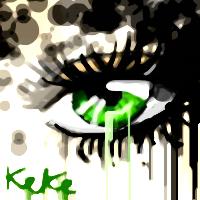 green eye by PurpleBerryKeKe