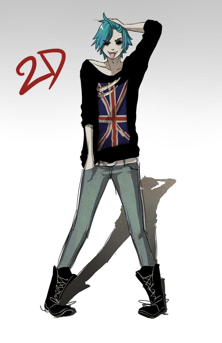Pretty Boy 2D by rrrotten