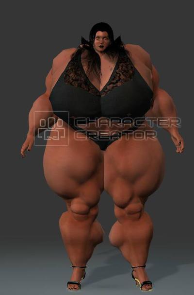 Muscle Goddess Mariah by King65846