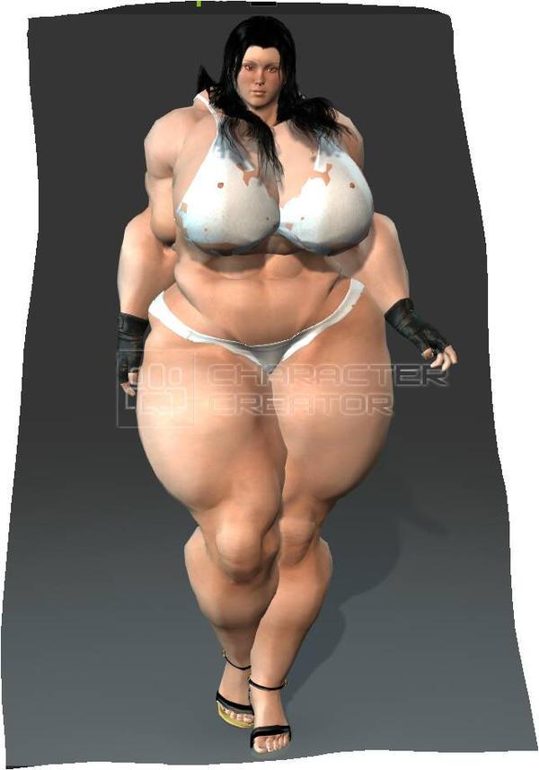 Bodybuilder Becky by King65846