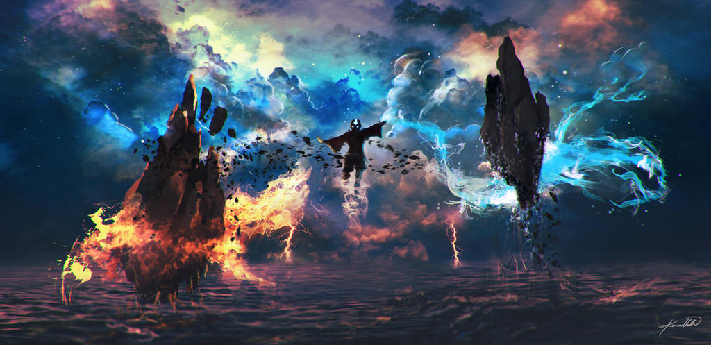 Avatar The last Airbender Fan Art [Avatar State]