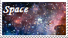 Space Stamp by HystericalVixen