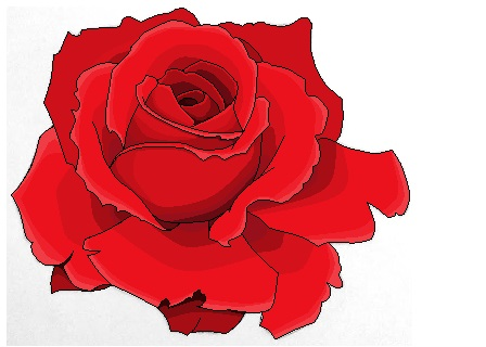 Pixel Rose (WIP) by HystericalVixen