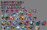 Megaman X Mugshots