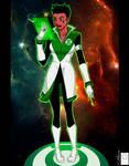 Green Lantern Soranik Natu Redux