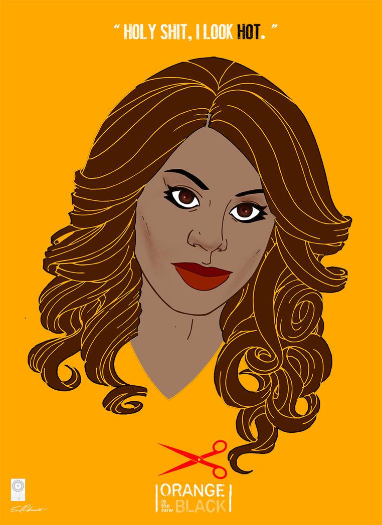 Orange Is The New Black: Sophia by e-carpenter