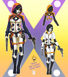 X-Men Domino redesign