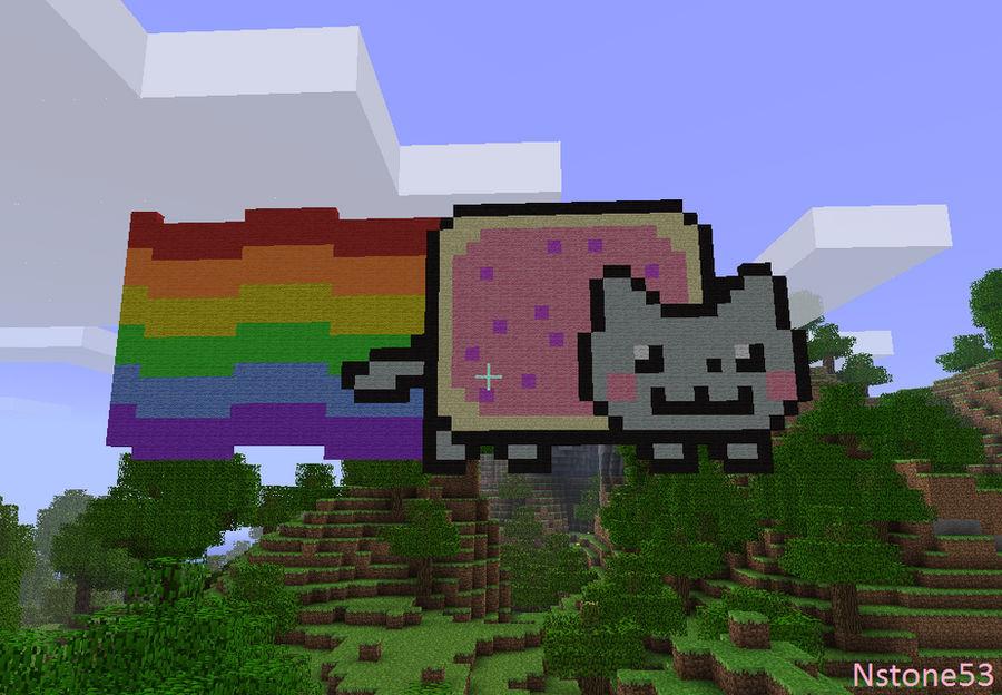 Nyan Cat - Minecraft