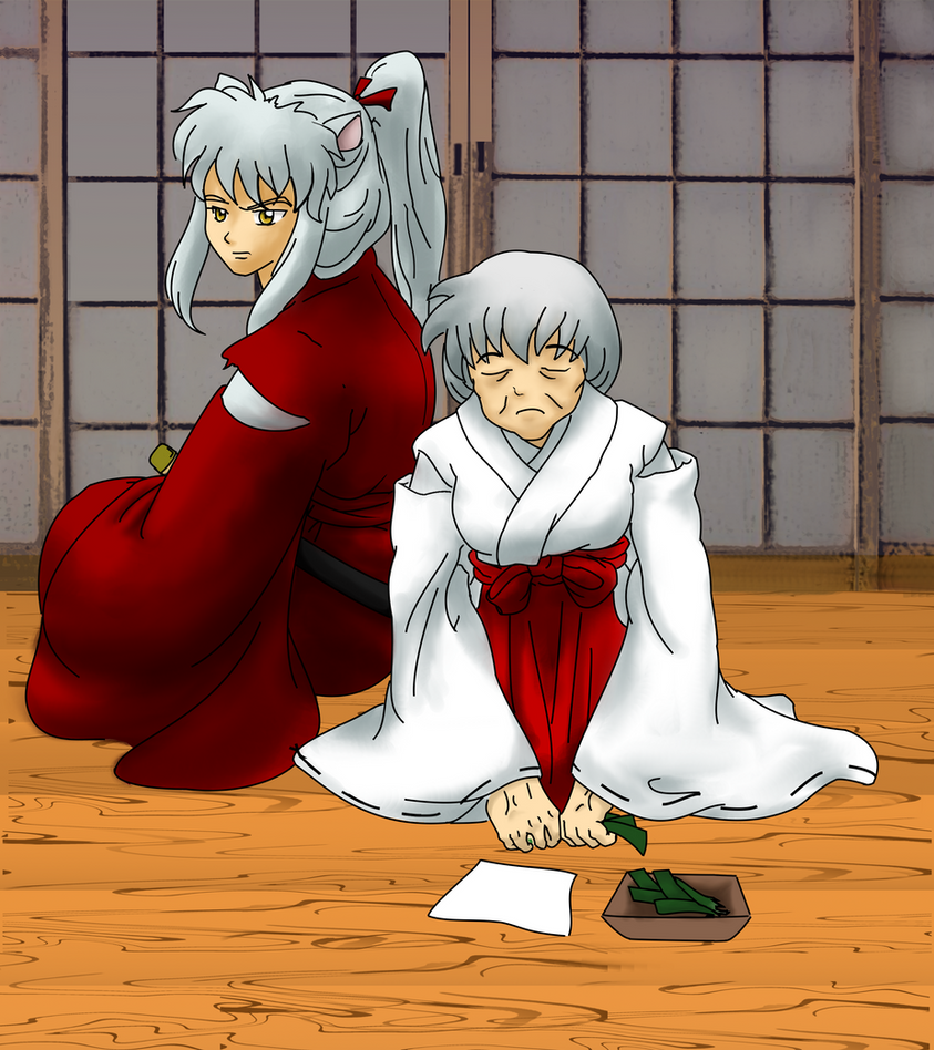 Older Inuyasha and Kagome by Nstone53 on DeviantArt