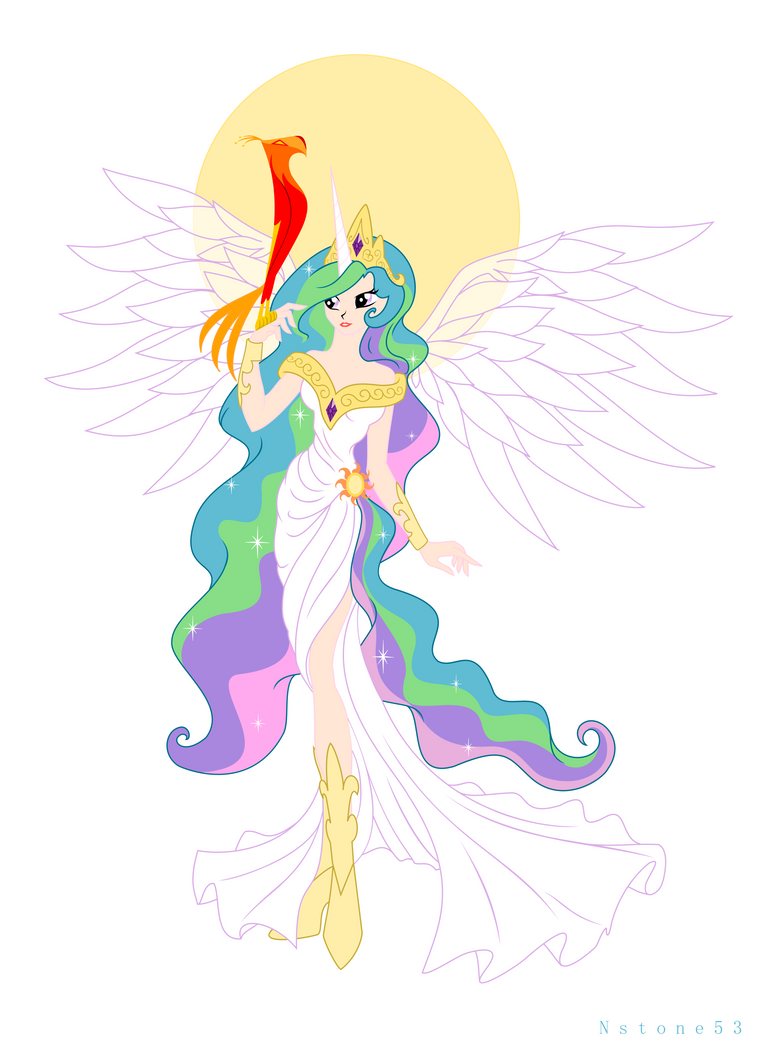 Celestia of Equestria by Nstone53