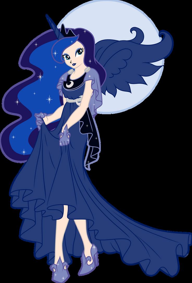 Humanized Princess Luna By Nstone53 On Deviantart