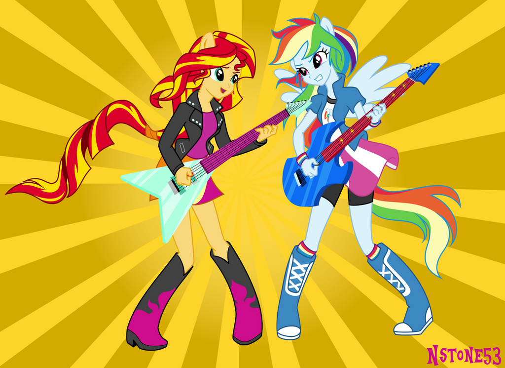 Rainbow Rocks After Show by Nstone53