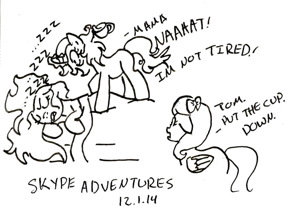 Skype OC Adventures 01 by Nstone53