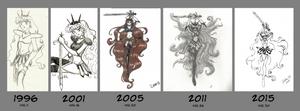 Oc Sailor Earth Art Evolution