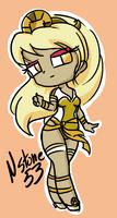 Minecraft Skin Sun Goddess
