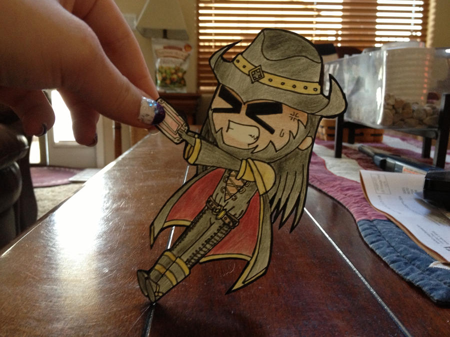League of Legends Twisted Fate Paper Child by sakura517