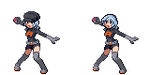 PKMN: Team Rocket Grunt Rain Sprite by whiizu