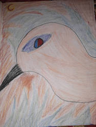 giant bird from hell by SquidKitty1994