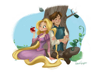 A Tangled Piece by victoriaying