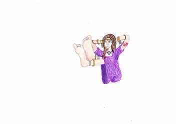 ragazza in posa(wip) by asari13