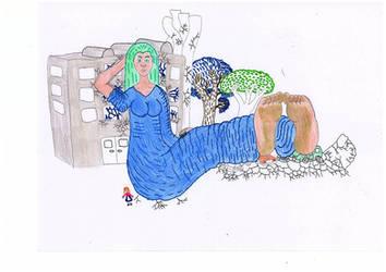 giantess by asari13