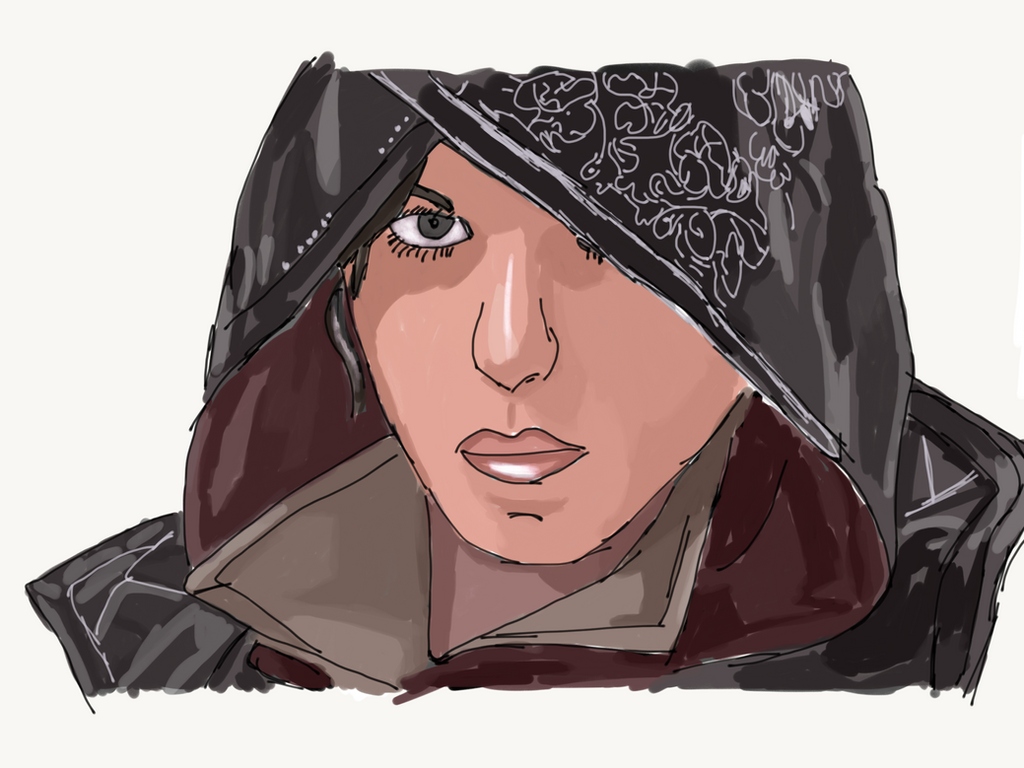 Evie Frye (AC Syndicate) by LordDiscord25